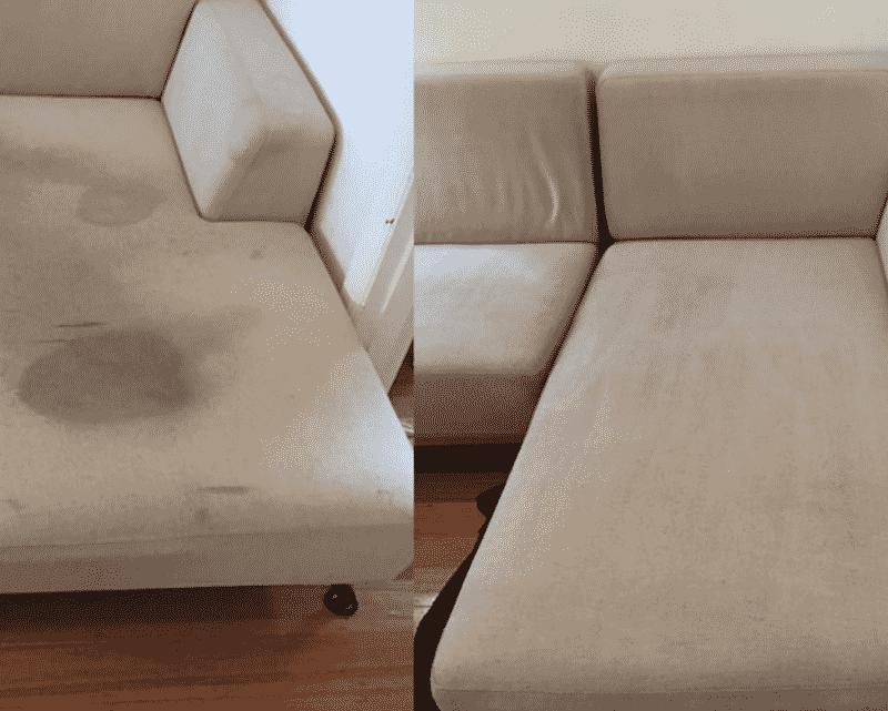 minkštų baldų valymas
